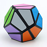 LanLan Magic Cube Megaminx Speed Smooth Speed Cube Black Smooth Sticker / Anti-pop ABS Toys