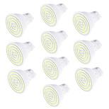 5W GU10 Lâmpadas de Foco de LED 80 SMD 2835 450 lm Branco Quente Branco Frio Decorativa AC220 V 10 pçs