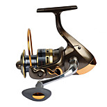 Катушки для спиннинга Спиннинговые катушки 2.6:1 13 Шариковые подшипники Заменяемый Обычная рыбалка-LF2000