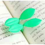 Soft Rubber Leaf Bookmarks(2 PCS/Set)