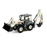Construction Vehicle Toys Car Toys 1:50 Metal ABS Plastic White Model & Building Toy