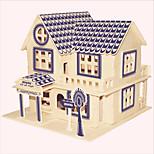Jigsaw Puzzles Wooden Puzzles Building Blocks DIY Toys Aegean Villa del Mare 1 Wood Ivory Model & Building Toy