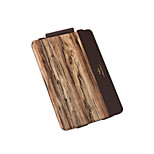 For Flip Pattern Case Full Body Case Wood Grain Hard PU Leather for Apple iPad Pro 9.7''