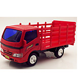 Truck Pull Back Vehicles Car Toys 1:25 Metal Plastic Red Model & Building Toy