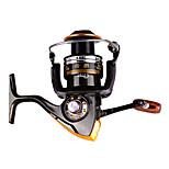 Катушки для спиннинга Спиннинговые катушки 2.6:1 11 Шариковые подшипники Заменяемый Обычная рыбалка-DA2000