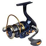 Катушки для спиннинга Спиннинговые катушки 2.6:1 13 Шариковые подшипники Заменяемый Обычная рыбалка-SF3000