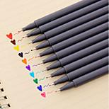 0.38 Mm 10-Color Painting Water Color Pen(10 PCS/Set)