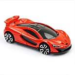 Rocket & Spaceship Race Car Toys Car Toys 1:60 Metal Plastic Red Model & Building Toy