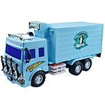 Construction Vehicle Pull Back Vehicles Car Toys 1:25 Metal Plastic Navy Blue Model & Building Toy