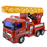 Construction Vehicle Pull Back Vehicles Car Toys 1:25 Metal Plastic Red Model & Building Toy