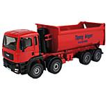 Vehículo de construcción Juguetes Juguetes de coches 1:50 Metal ABS Plástico Rojo Modelismo y Construcción