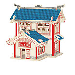 Jigsaw Puzzles Wooden Puzzles Building Blocks DIY Toys  YaoYueLou 1 Wood Ivory Model & Building Toy