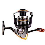 Катушки для спиннинга Спиннинговые катушки 2.6:1 13 Шариковые подшипники Заменяемый Обычная рыбалка-DA3000