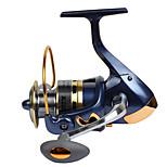 Катушки для спиннинга Спиннинговые катушки 2.6:1 13 Шариковые подшипники Заменяемый Обычная рыбалка-SF2000