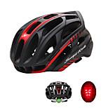Спорт Универсальные Велоспорт шлем 36 Вентиляционные клапаны Велоспорт Велосипедный спорт L: 59-63 см Поликарбонат ПенополистиролБелый