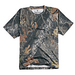 Unisex T-shirt Hunting Breathable Wearable Summer Camouflage