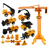 Construction Vehicle Pull Back Vehicles Car Toys 1:20 ABS Yellow Model & Building Toy