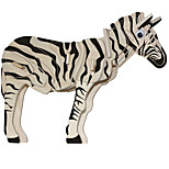 Jigsaw Puzzles Wooden Puzzles Building Blocks DIY Toys Zebra 1 Wood Ivory Model & Building Toy