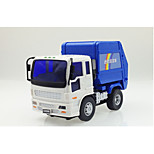 Construction Vehicle Pull Back Vehicles Car Toys 1:25 Metal Plastic Blue Model & Building Toy