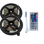 10M 3528 600 SMD IP65 RGB AC 100-240V With 44 Key Remote Lighting Set