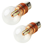 YouOKLight 2pcs E27 5W 450lm 3000K 25xSMD2835 Warm White LED Bulb Lamp AC85-265V