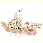 Jigsaw Puzzles Wooden Puzzles Building Blocks DIY Toys  Dragon (red) 1 Wood Ivory Model & Building Toy