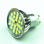 4.5W GU10 LED Spotlight MR16 24 SMD 5050 300 lm Warm White Cool White Dimmable AC220 V 1 pcs