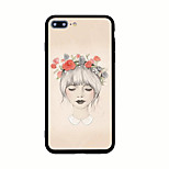 Per Fantasia/disegno Custodia Custodia posteriore Custodia Sexy Resistente Acrilico per AppleiPhone 7 Plus iPhone 7 iPhone 6s Plus iPhone