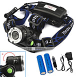 U'King® ZQ-X811B#-EU CREE XML T6 LED Zoomable 2000LM Headlamp Headlight Bicycle Light for Camping Hiking