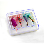 2 pcs Flies Random Colors 5 g Ounce mm inch,Plastic General Fishing
