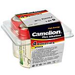 Camelion  LR20-PB4 D Alkaline Battery 1.5V 4 Pack