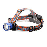 U'King® ZQ-X830BL CREE XML-T6 LED 2000LM Zoomable 180 Rotate 3Modes Headlamp Bike Light with Rear Safety LED