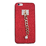 Per Fai da te Custodia Custodia posteriore Custodia Glitterato Morbido TPU per AppleiPhone 7 Plus iPhone 7 iPhone 6s Plus iPhone 6 Plus