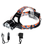 U'King® ZQ-X821B-US CREE XM-L T6/2*R5 Headlamp 5000LM LED 4 Mode for Camping Hiking Bike Outdoor Green light