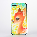 For Apple iPhone 7 Plus Case Back Cover Case Soft Silicone Deer Pattern for Apple iPhone 7 iPhone 6s Plus/6 Plus iPhone 6s/6