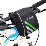 B-SOUL® Велосумка/бардачокБардачок на руль Пригодно для носки Велосумка/бардачок Рубашечная ткань Велосумка Велосипедный спорт 15.5*11*9