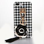 Para IMD Manualidades Funda Cubierta Trasera Funda Flor Suave TPU para AppleiPhone 7 Plus iPhone 7 iPhone 6s Plus iPhone 6 Plus iPhone 6s