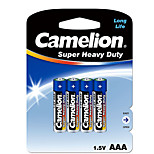 Camelion Camelion AAA Carbon Zinc Battery 1.5V 4 Pack