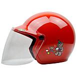 ZEUS AS-201 Motorcycle Children Helmet Half Helmet ABS For 3-12 Years Old