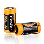 fenix 16340 700mAh 3.7V li-ion recarregável-arb-l16-700