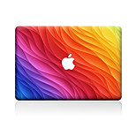 For MacBook Air 11 13/Pro13 15/Pro with Retina13 15/MacBook12 Color Of Grain Decorative Skin Sticker