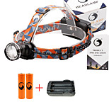 U'King® ZQ-X830B#2-EU CREE XML-T6 LED 2000LM Zoomable 180 Rotate 3Modes Headlamp Bike Light Kits with Rear Safety LED