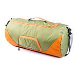 GOX Travel Bag Travel Storage for Unisex Travel Storage Fabric-Black Light Green