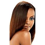 1PC TRES JOLIE Remy Yaki 10-20Inch Color #30  Medium Auburn Human Hair Weaves