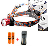 U'King® ZQ-X830R#3-EU CREE XML-T6 LED 2000LM Zoomable 180 Rotate 3Modes Headlamp Bike Light Kits with Rear Safety LED