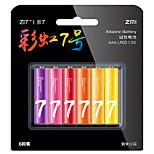 batteria alcalina AAA zi7 ZMI 6 pack 1.5v