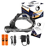 U'King® ZQ-X831B#1-EU Waterproof 2000LM CREE XML-T6 LED 3 Modes Headlamp Bike Light Kit USB Rechargeable