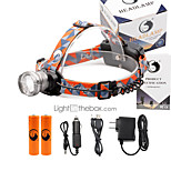 U'King® ZQ-X830S#-US CREE XML-T6 LED 2000LM Zoomable 180 Rotate 3Modes Headlamp Bike Light Kits with Rear Safety LED