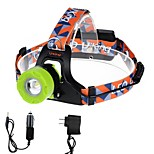 U'King ZQ-X8001BGreen-US CREE T6 2000LM LED Headlamps Kits 3 Mode Adjustable Focus Zoomable