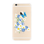 For Beautiful Pattern Flower Soft TPU for Apple iPhone 7 Plus iPhone 7 iPhone 6s Plus 6 Plus iPhone 6s 6 iPhone5 SE 5C iphone 4